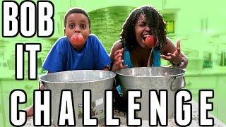 BOB IT BUCKET CHALLENGE! | Apples vs Pickles