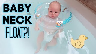 TRYING THE BABY NECK FLOAT!! | A DAY IN THE LIFE VLOG | BRITTANI BOREN LEACH