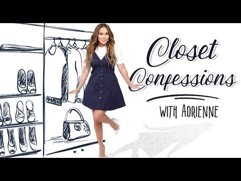 WEB EXCLUSIVE: Closet Confessions with Adrienne!