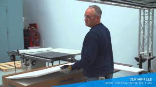 Fine Fissured Acoustic Ceilings Panels: Cuts Like Butter