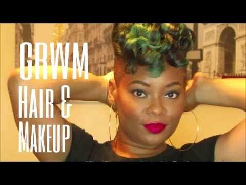 back and sides haircut tutorial grwm makeup and hair sides hair tutorial ft 4759