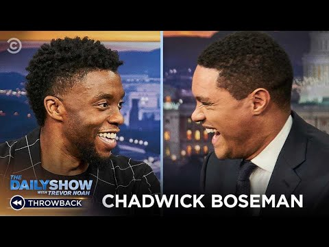 Chadwick Boseman: Being The Hero In Your Own Story   The Daily Show