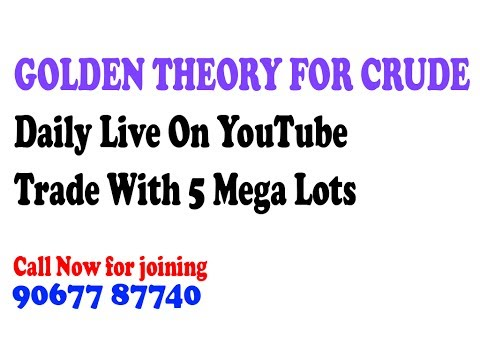MCX Crude Oil Live 13th June With Profit Proof