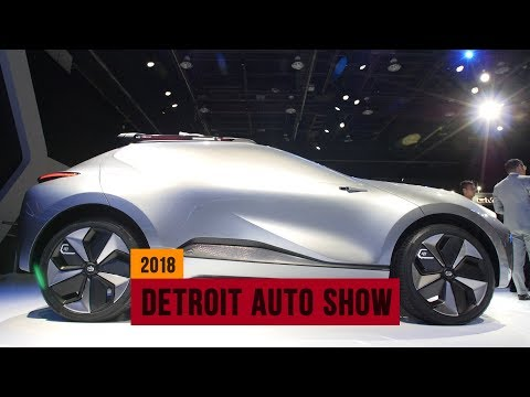 GAC Motor delivers Enverge, a weird electric crossover concept to Detroit