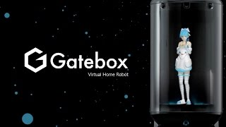 Gatebox - Virtual Home Robot (Asistente virtual y personal HOLOGRAMA)