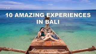 Gambar cover 10 Amazing Experiences to have in Bali: Bubble Hotels, Beaches, & More