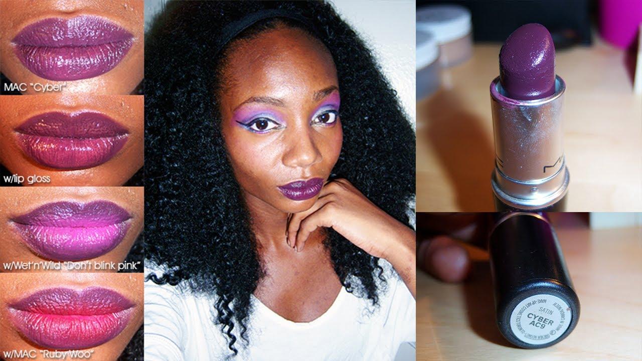 Eccezionale Review: MAC Cyber AC9 lipstick - YouTube ZI49