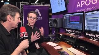 Multi-channel audio interface featuring Apogee's flagship AD/DA con...