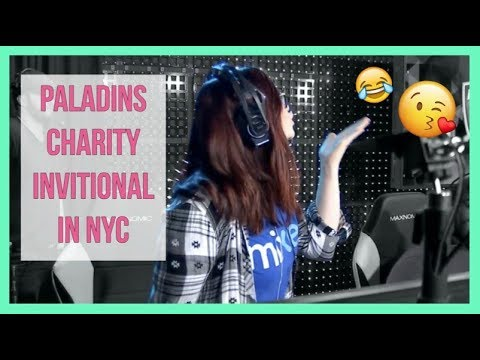I Played Video Games For Charity in NYC!