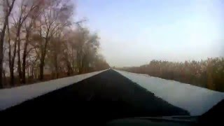 03.01.2016 Rostov-on-Don - Shebekino timelapse...