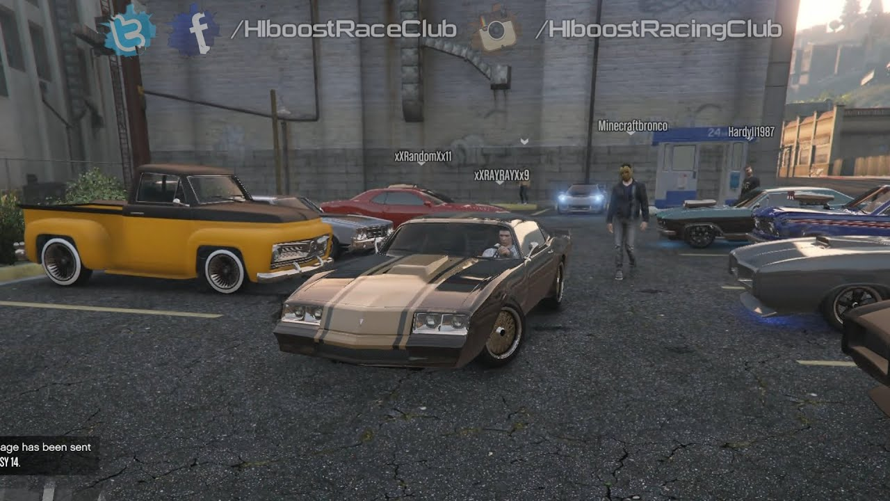 Grand theft auto v online xb1 muscle car meet all Grand motors used cars
