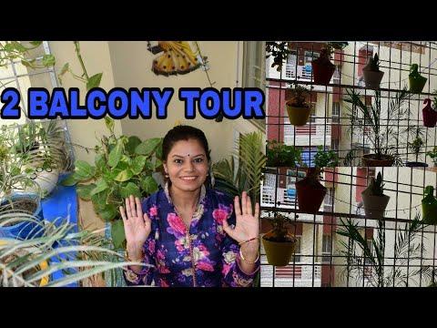 BALCONY TOUR ! small 2nd BALCONY MAKEOVER! BALCONY ORGANIZATION IDEAS! DIY planters! DECOR!