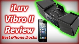 Iluv Vibro 2 Iphone/ipod Dock Review - Charging, Radio, Alarm & Shaker - Best Iphone/ipod Dock