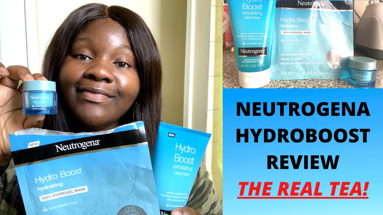NEUTROGENA HYDRO BOOST WATER GEL, MASK, AND CLEANSER REVIEW (Should you buy this in 2020)?