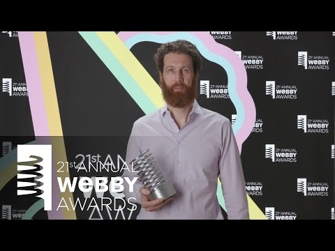 Conde Nast Entertainment's 5-Word Speech at the 21st Annual Webby Awards