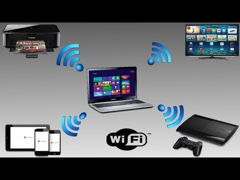 How to turn your wired work connection into a WiFi Access Point