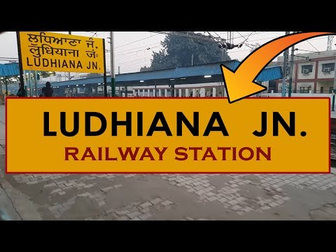 LDH, Ludhiana Junction Railway Station, India In 4k Ultra HD