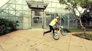 Go BMX di mnc tv Botay Agata. Flatland BMX Indonesia