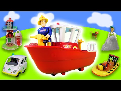 Fireman Sam: 7 vehicles in action! from YouTube · Duration:  5 minutes 30 seconds