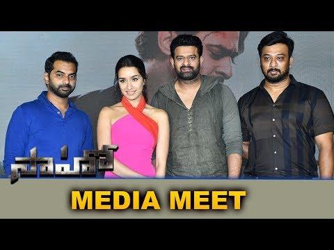 Saaho Press Meet Full Event || Prabhas, Shraddha Kapoor - Bhavani Hd Movies