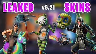 *ALL NEW* Leaked Skins, Gliders - Fortnite v6.21 Patch