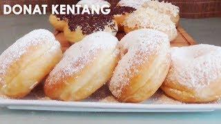 Resep Donat Kentang | Potato Donuts Recipe | Trivina Kitchen