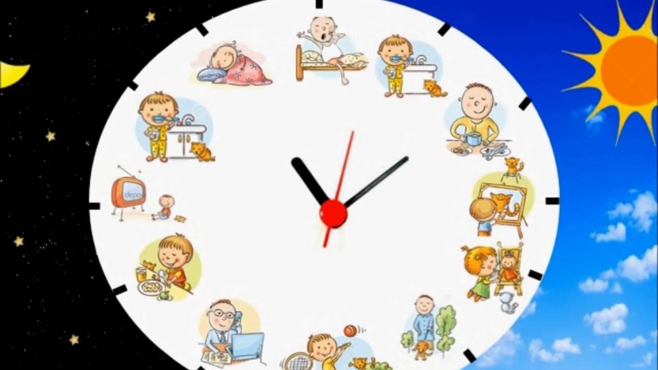 Actividades diarias youtube - Hacer reloj de pared con fotos ...