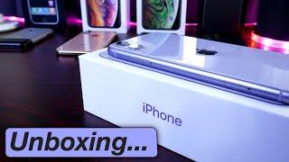 Purple iPhone 11 Unboxing