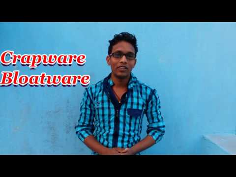 what is crapware and bloatware in hindi by Internet gyaan