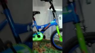 Дитячий велосипед premier, колеса 16 дюймів. Обзор.
