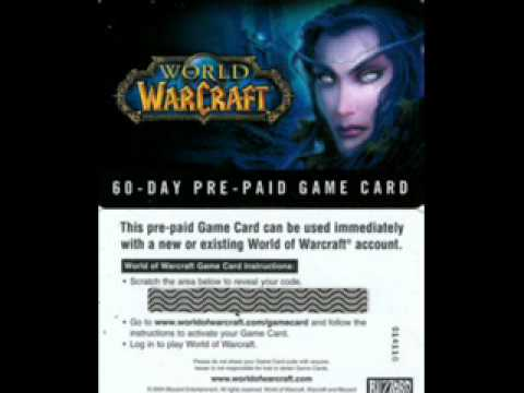 Free WoW CD Key