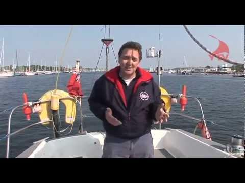 Sailing - Mooring up Under Sail