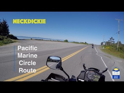 Pacific Marine Circle Route - On Motorcycle