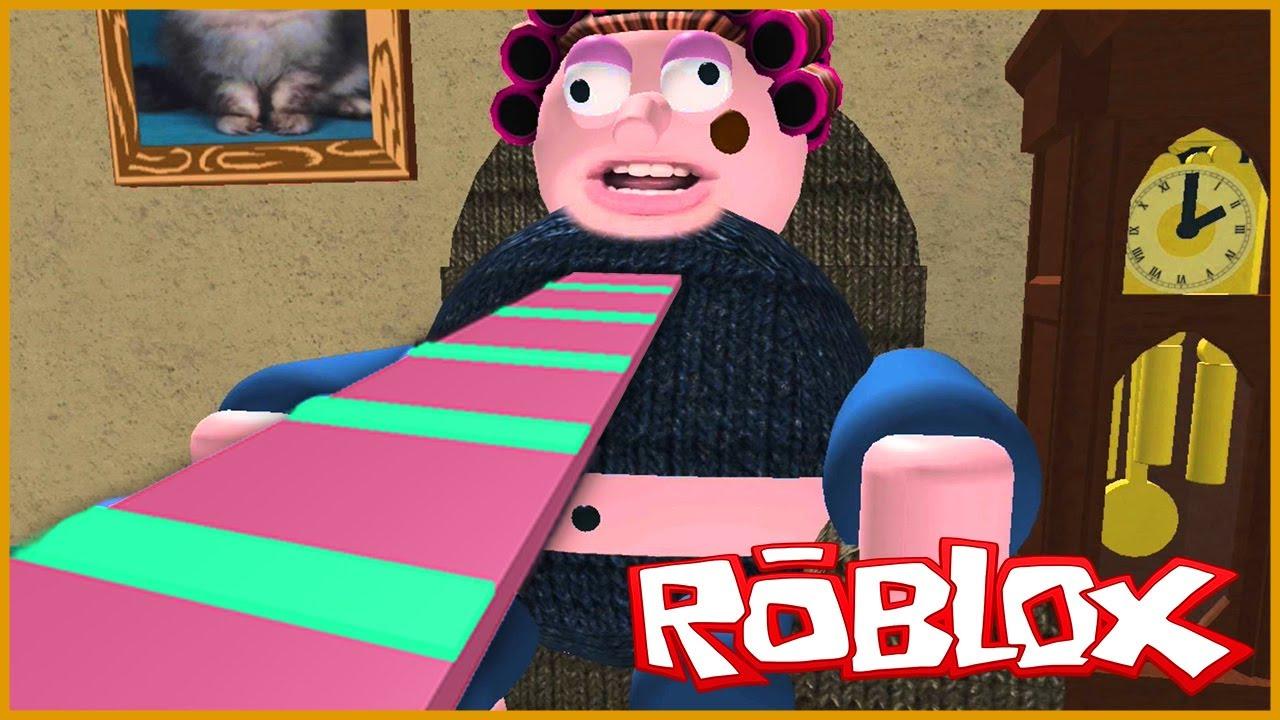 escape de la abuelita roblox new escape grandma s house obby Escape De La Abuela Diabolica En Roblox Escape Grandma House Obby Roblox Games Youtube