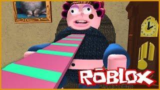 ESCAPE DE LA ABUELA DIABÓLICA EN ROBLOX (Escape Grandma House Obby ) Roblox Games