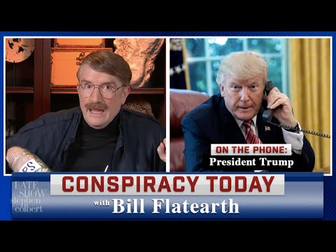 "President Trump Calls In To ""Conspiracy Today"" With Bill Flatearth thumbnail"