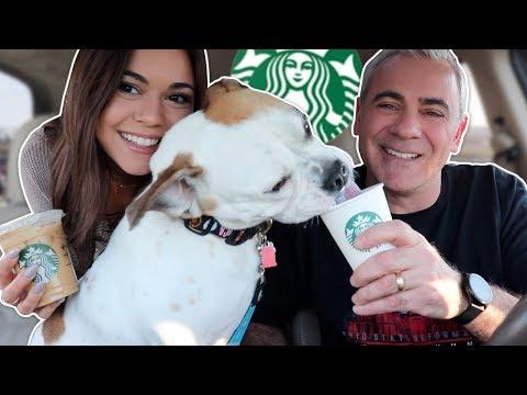 Bulldog Gets Starbucks! ft Steph Pappas