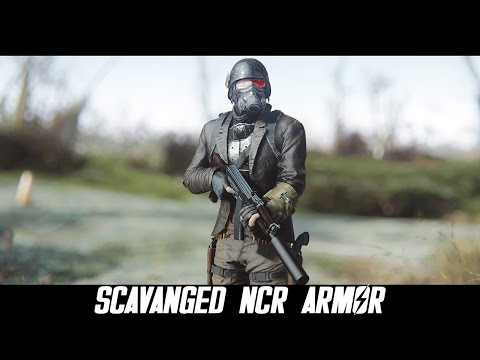 Fallout 4 Mods: Scavanged NCR Armor by L0rd0fWar
