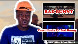 BAD BUNNY REACTION ( Bad Bunny - Amorfoda ,Cosculluela Ft. Bad Bunny |
