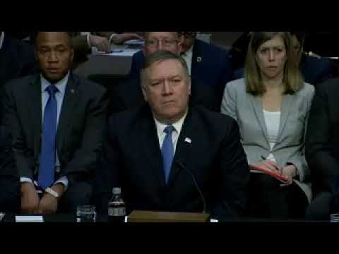 FBI, CIA, and NSA leaders testify before the Senate Intel Cmte. on threats to national security.