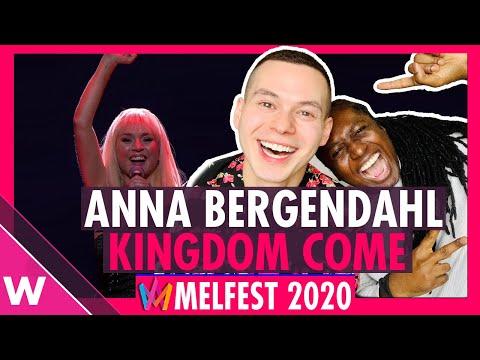 "Anna Bergendahl ""Kingdom Come"" Reaction | Melodifestivalen (Sweden Eurovision 2020)"