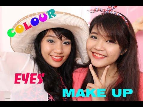 [Clip]_Makeup_Color eye Makeup