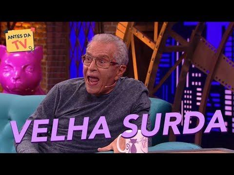 Carlos Alberto de Nóbrega responde como a Velha Surda | Lady Night | Humor Multishow