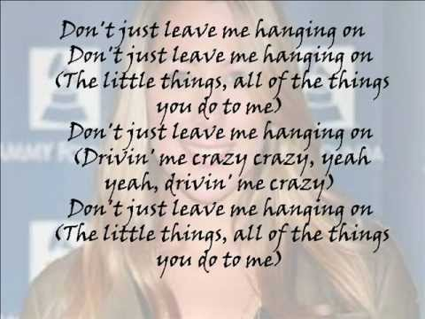 Colbie Caillat-The Little Things Lyrics