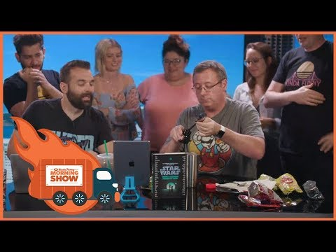 Weird British Food wGary Whitta  Kinda Funny Morning  09.28.17