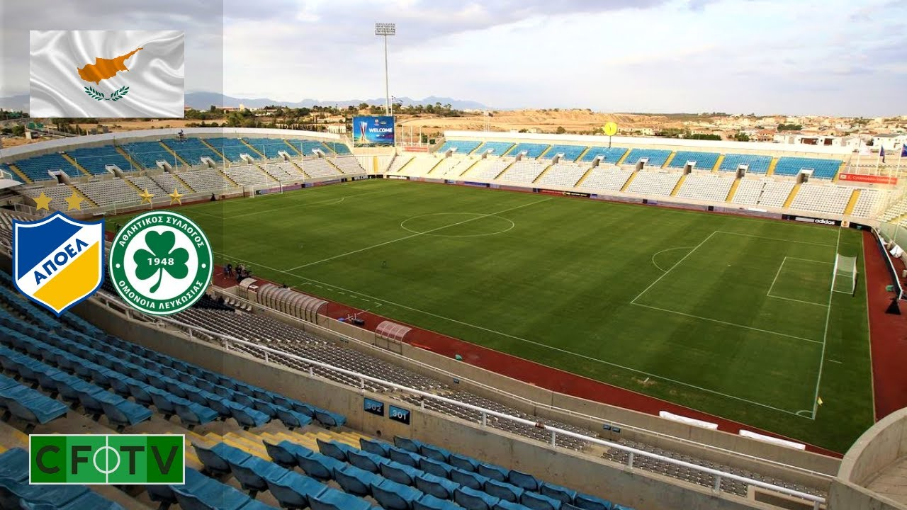 GSP Stadium Cyprus - APOEL & Omonia Nicosia - YouTube