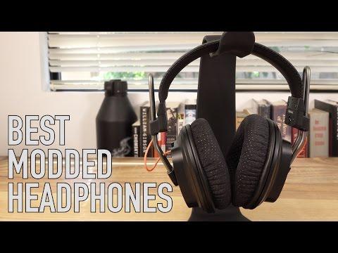Best Sounding Modded Headphones Ever? - Mayflower Electronics Fostex T50RP MK III