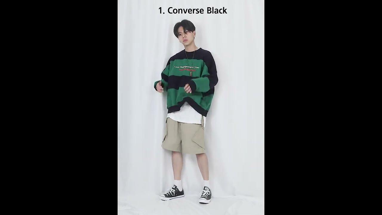 요즘 컨버스 코디 1분만에 보기 / korean fashion