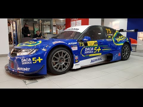 Dacia Logan STCC - Swedish Touring Car Championship.