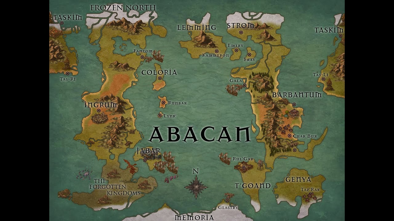 Skattosan Dnd World Map Creation Youtube